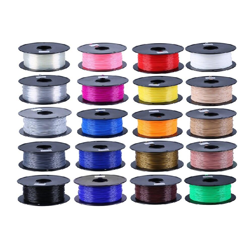 Top Qualité PLA Plastique 3D Imprimante 1.75mm Filament Usine Fournir Directement pour FDM 3D Imprimante Filament Impressora 3D Filamento