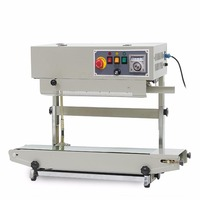 CapsulCN FR 900V Continuous Band Sealer Plastic Bag Sealing Machine 110V 60HZ