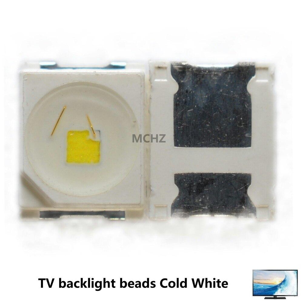 1000PCS Biggest Discount LED Backlight 1210 3528 2835 3V 1W 92l LM Cool white For LG Innotek LCD TV Application