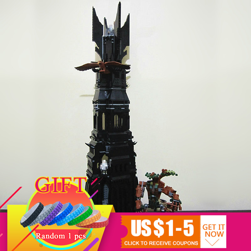 16010 2430Pcs Lord of the Rings Lord of the Rings Set Building Blocks Model Compatible With 10237 toys lepin in stock free shipping lepin 16010 2430pcs lord of the rings lord of the rings model set building kits model compatible10237