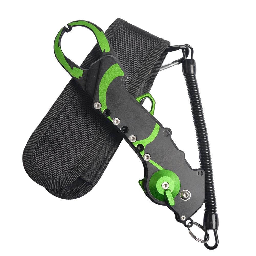 Coupe-ligne pliant pince de pêche Portable en aluminium équipement pince à poisson ciseaux détachant les outils accessoires pratiques