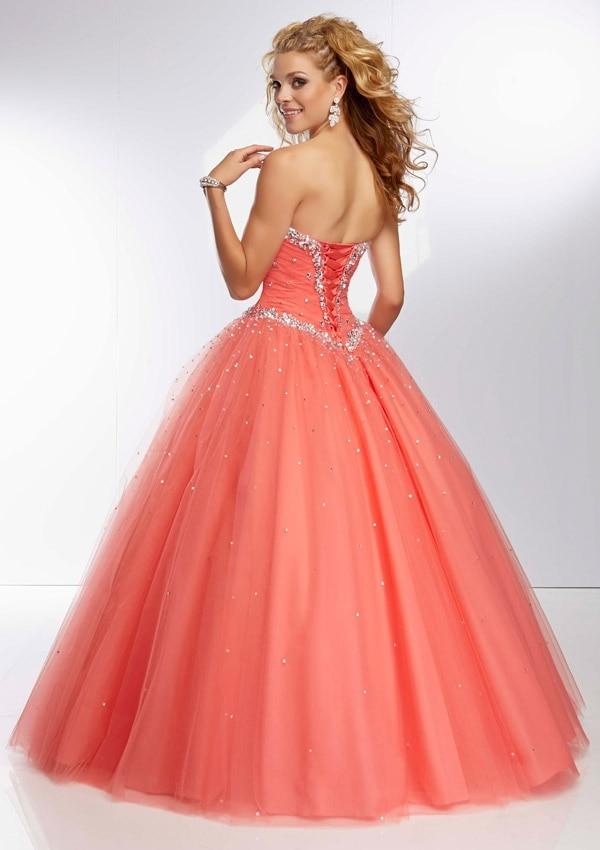 coral  Taffeta Navy Quinceanera Dresses.jpg