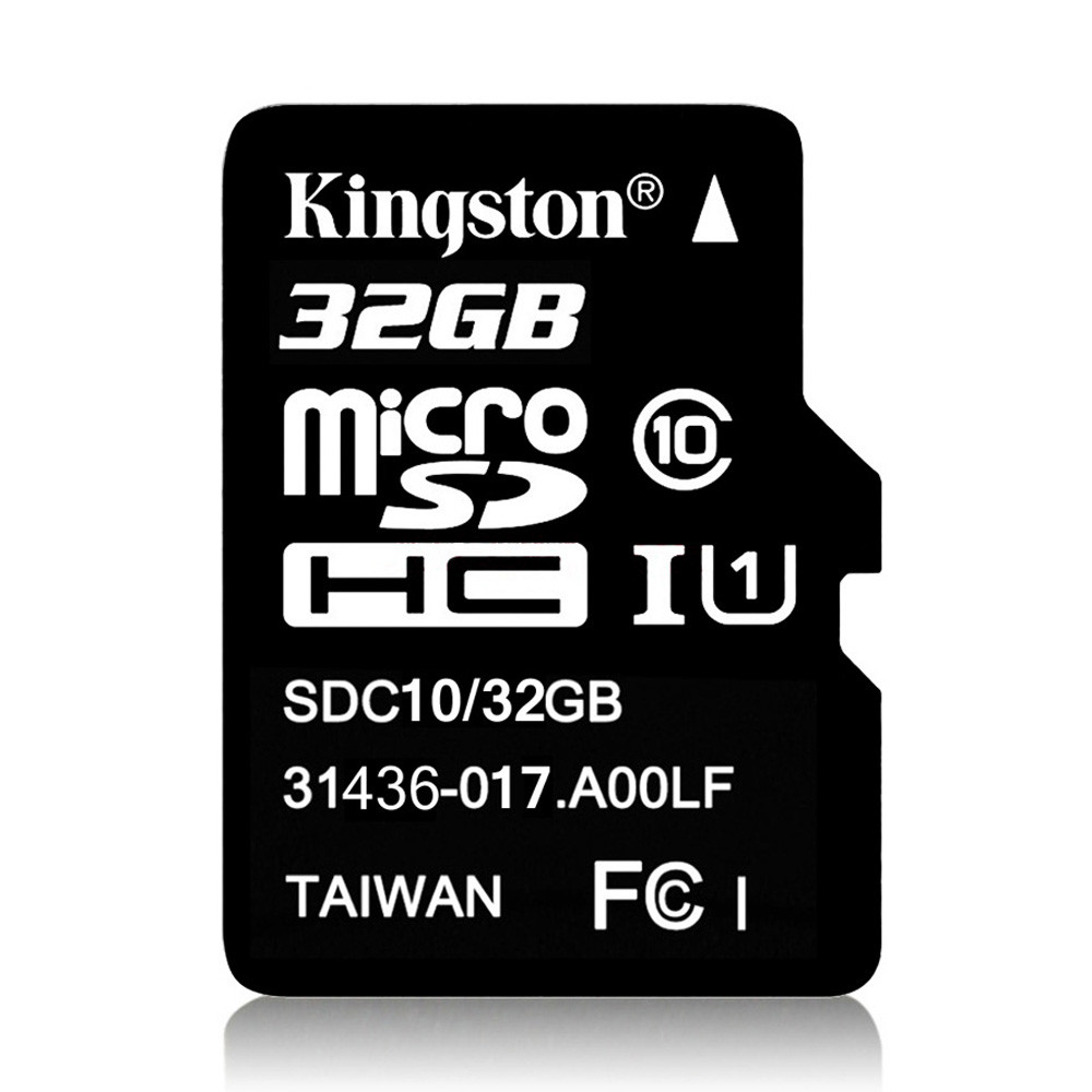 Original Kingston TF Card Class 10 8GB 16GB 32GB 64GB Micro SD Card TF Flash Memory Card 80MB/s With TF Card Adapter For Android