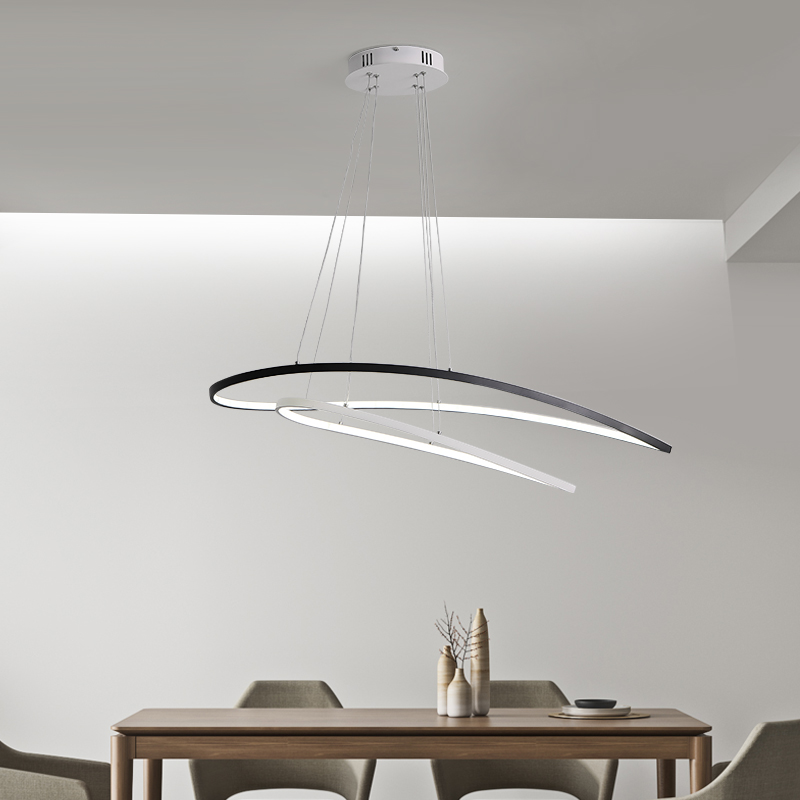 Modern Led Pendant Lights Pendant Lamps for Kitchen Dining Bedroom Restaurant Remote Control Dimming Hanging Lighting