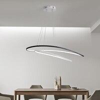 Современные светодиодные кулон светильники подвесные лампы для кухня обеденный спальня ресторан дистанционное управление затемнения вис