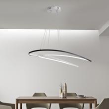 Современные светодиодные кулон светильники подвесные лампы для кухня обеденный спальня ресторан дистанционное управление затемнения висит освещение