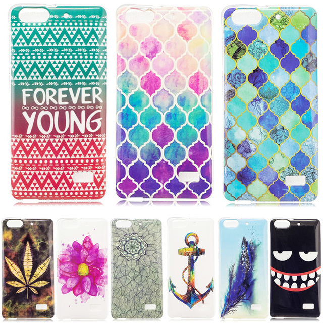 TPU Case for Huawei Honor 4C 4 C Honor4C CHM-U01 Silicone Cover Cases for Huawei G Play Mini CHC-U01 CHC-U03 CHC-U23 Coque Bags