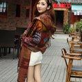 Женщины Чешские Кардиган Кисти Пляж Cover Up С Капюшоном Мыса Плащ Теплый Пончо Пальто Куртки Платок Шарф