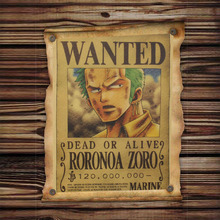 Roronoa Wanted Poster [51x36cm]