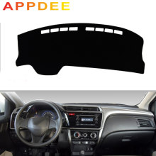 APPDEE For Honda city Grace 2014-now Car Styling Covers Dashmat Dash Mat Sun Shade Dashboard Cover Capter 2015 2016 2017 2018 20(China)