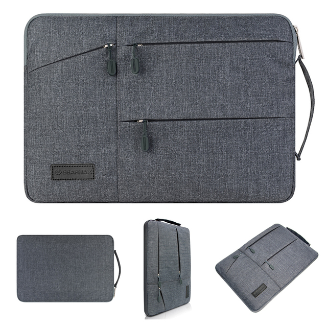 Bolsa de manga de ordenador portátil para Microsoft Surface Pro 4 5 6 libro de superficie 2 13,5/15 funda de Tablet bolsa impermeable superficie ir