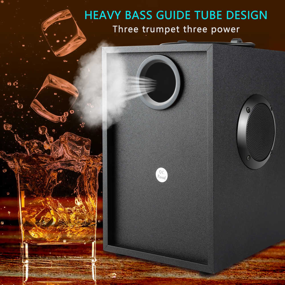 TOPROAD Wireless Bluetooth Speaker Super Bass Subwoofer EQ Louderspeaker  LCD Display FM radio Remote control MP3 Player speaker