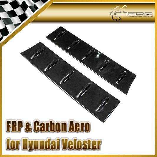 EPR Car Styling For Hyundai Veloster FRP Fiber Glass Roof Vortex Generator 2pcs(All Model)