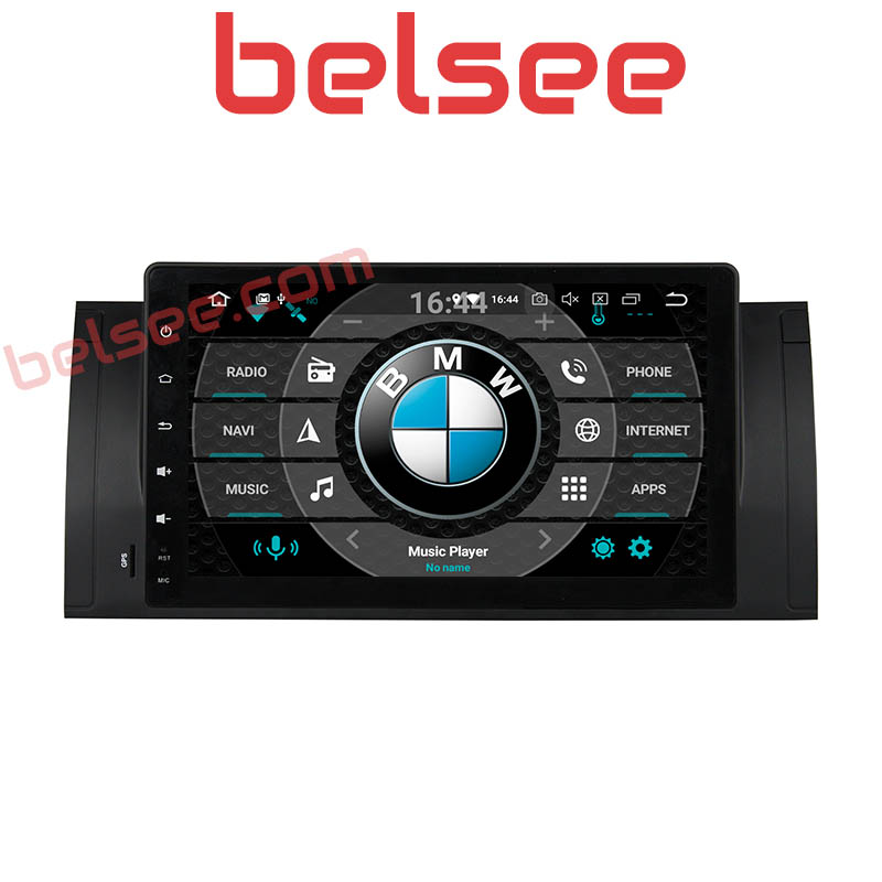 Belsee 9 Octa Core PX5 4GB Android 8.0 Autoradio Car Radio DVD Player Multimedia Tablet Stereo Head Unit for BMW E39 X5 E53 M5