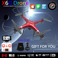 X6SW Dron FPV Quadcopter Drone con Cámara HD WIFI Juguetes RC Helicóptero Quadrocopter Helicoptero