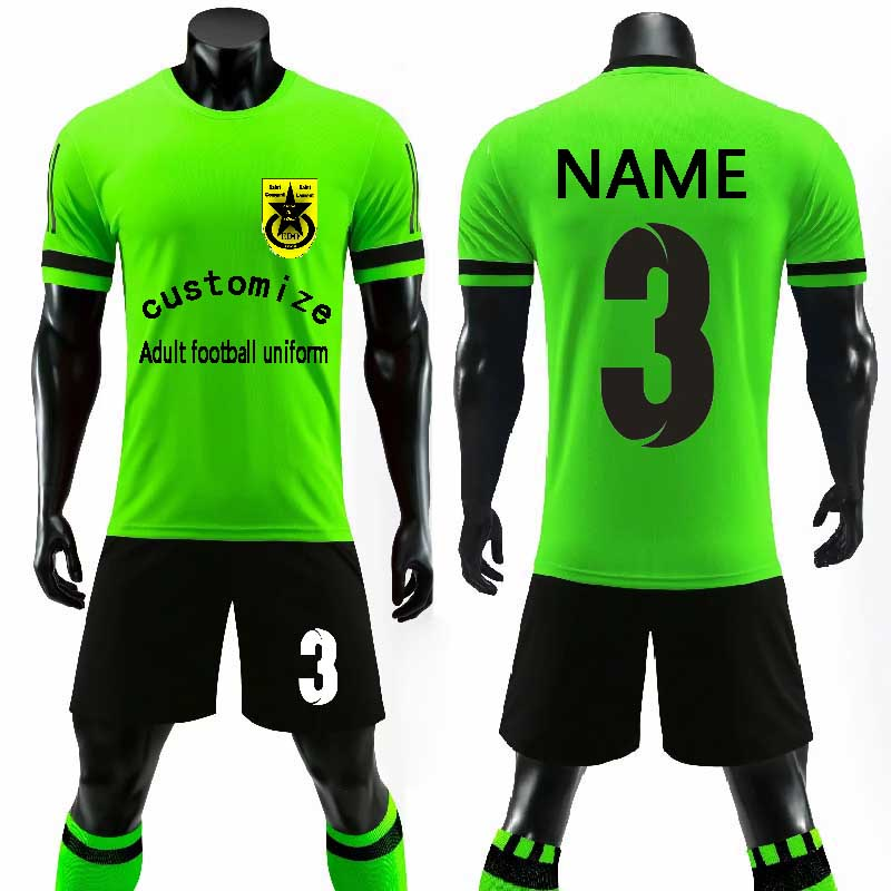 e1eb363a2 custom Adult 2018 2019 Soccer Jerseys Set Uniforms Football clothes Kit  Cheap Breathable Football short Shirt Uniforms Tracksuit-in Soccer Sets  from Sports ...