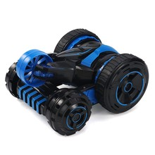 JJRC Q49 rc car Aikeer one-button deformation flip cool light 360-degree rotating double-sided car stunt car