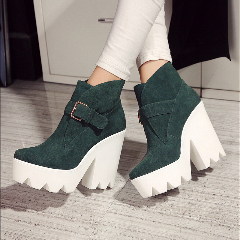 boots new arrival real genuine leather pointed toe
