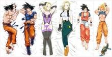 Japanese Anime Dragon Ball Z Son Goku Male Pillow Cover Case Hugging Body BL Draongball Bedding Covers