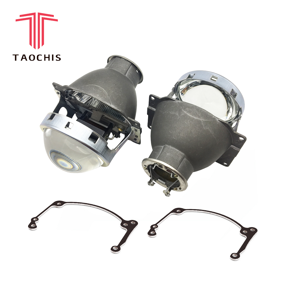 TAOCHIS Car Styling transition frame adapter Hella R Projector lens retrofit Bracket for TOYOTA AVENSIS II 2003 - 2007