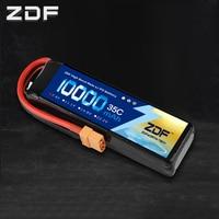 ZDF RC Car Lipo Battery 2S 3S 7.4V / 11.1V 10000mah 35C Max 70C XT90 / XT60/ T Plug For Rc Airplane Traxxas Car RC Truck