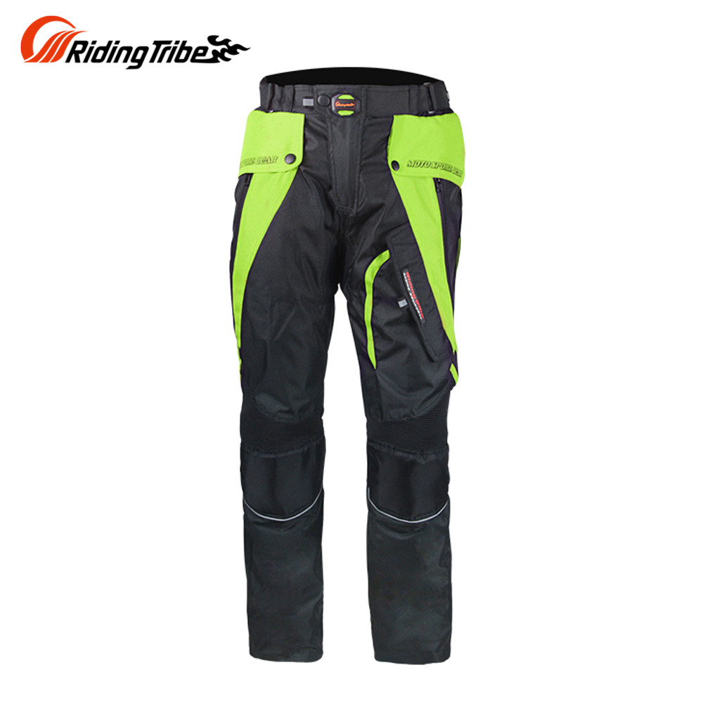 Riding Tribe Motorcycle Pants Motocross Moto Jeans Windproof Waterproof Moto Armor Protective Gear with Linner HP-09