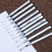 10 Tip Sizes Micron Neelde Drawing Pen Waterproof Pigment Fine Line Sketch Markers Pen For Writing Hand-Paint anime Art Supplies pentel cartoons sketch pen jm20 ash drawing pen draft line pen