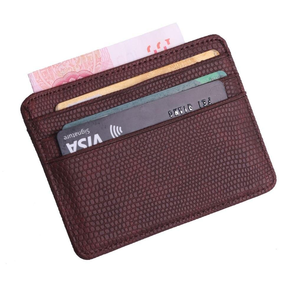 femme CUIR VERITABLE 17 Cartes Porte cartes portefeuilles homme