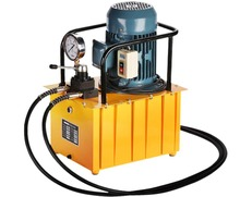 Купить 3kw manual operation hydraulic pump station DBD750-CS2 double oil pump hydraulic pump double circuit ultra high pressure pump в интернет-магазине дешево