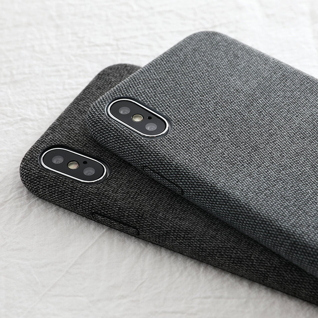 Cloth Texture Soft TPU case For iphone all Range