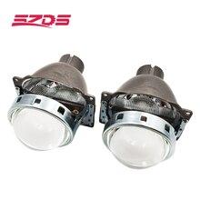 SZDS עבור אוטומטי רכב פנס 3.0 אינץ KOITO Q5 H4 דו קסנון מקרן עדשת Retrofit Hid קסנון D2S D2H נורות לשנות אופטי עדשה
