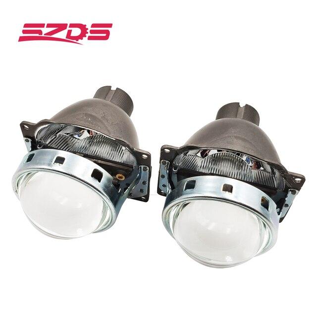 SZDS For Auto Car Headlight 3.0 inch KOITO Q5 H4 Bi xenon Projector Lens Retrofit Hid Xenon D2S D2H Bulbs Modify Optical lens