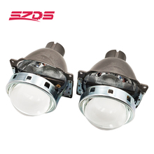 SZDS Para Auto Car Farol 3.0 polegada Q5 H4 KOITO Bi xenon Lente Do Projetor Retrofit Hid Xenon D2S D2H lâmpadas Modificar lente Óptica
