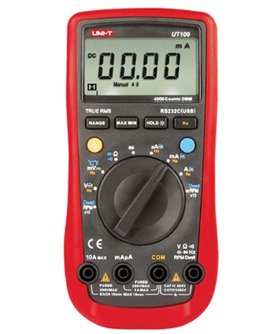 UT109 Auto Range Handheld Automotive Multi-Purpose Meters Marine Multimeter  цены