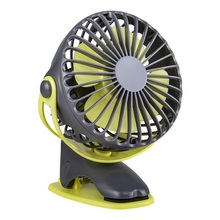 4 Speeds 360 Degree 4000mAh Portable Cooling Mini USB Fan All-round Rotation Rechargeable Air Charging Desktop Clip