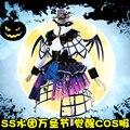 [Март Со] Аниме Lovelive Солнце!! Aqours Ёсико Хэллоуин Пробудить Gothic Lolita dress + крылья косплей костюм НОВЫЙ 2017
