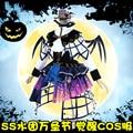 [Marzo de stock] anime sol lovelive!! aqours yoshiko despertar de halloween gothic lolita dress + alas cosplay nuevo 2017