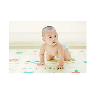 Doolland Foldable Baby Play Mat Foam Pad XPE Game Blanket