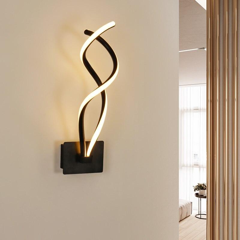 Nordique 15 W mur LED lampe moderne salon chambre lecture mur lumière couloir hôtel décoration intérieur éclairage