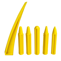 6Pcs PDR Tools Dent Removal Auto Body Paintless Dent Repair Tool Kits Knockdown Kits Curved Window