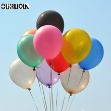 100pcs 1.2g 10inch Helium Latex Balloon Air Balls Inflatable Toy Wedding Party Decoration Happy Birthday Kid Globos Party Baloon