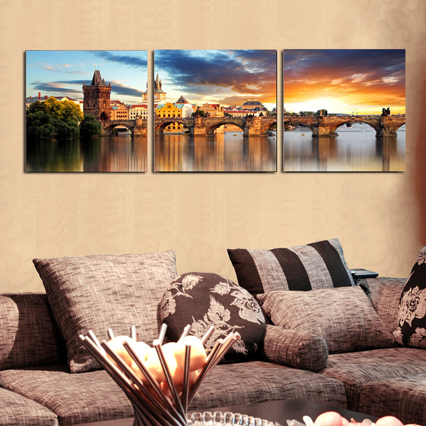 Modern Traditional Wall Art Decor Motif - Wall Art Design ...