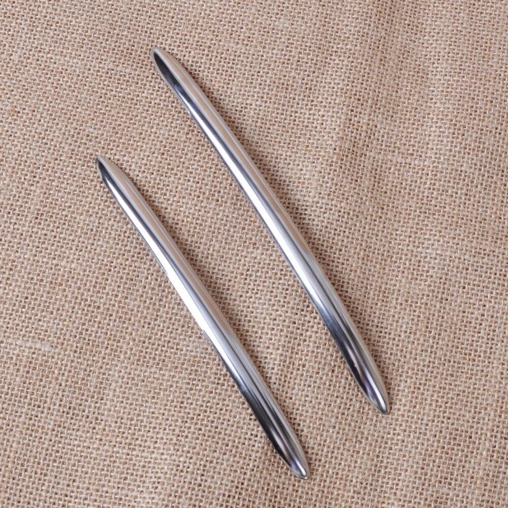 DWCX Высокое качество автомобиль укладка 4 шт нержавеющая стальная наружная дверь литая ручка Накладка подходит для BMW 5 серии F10 F18