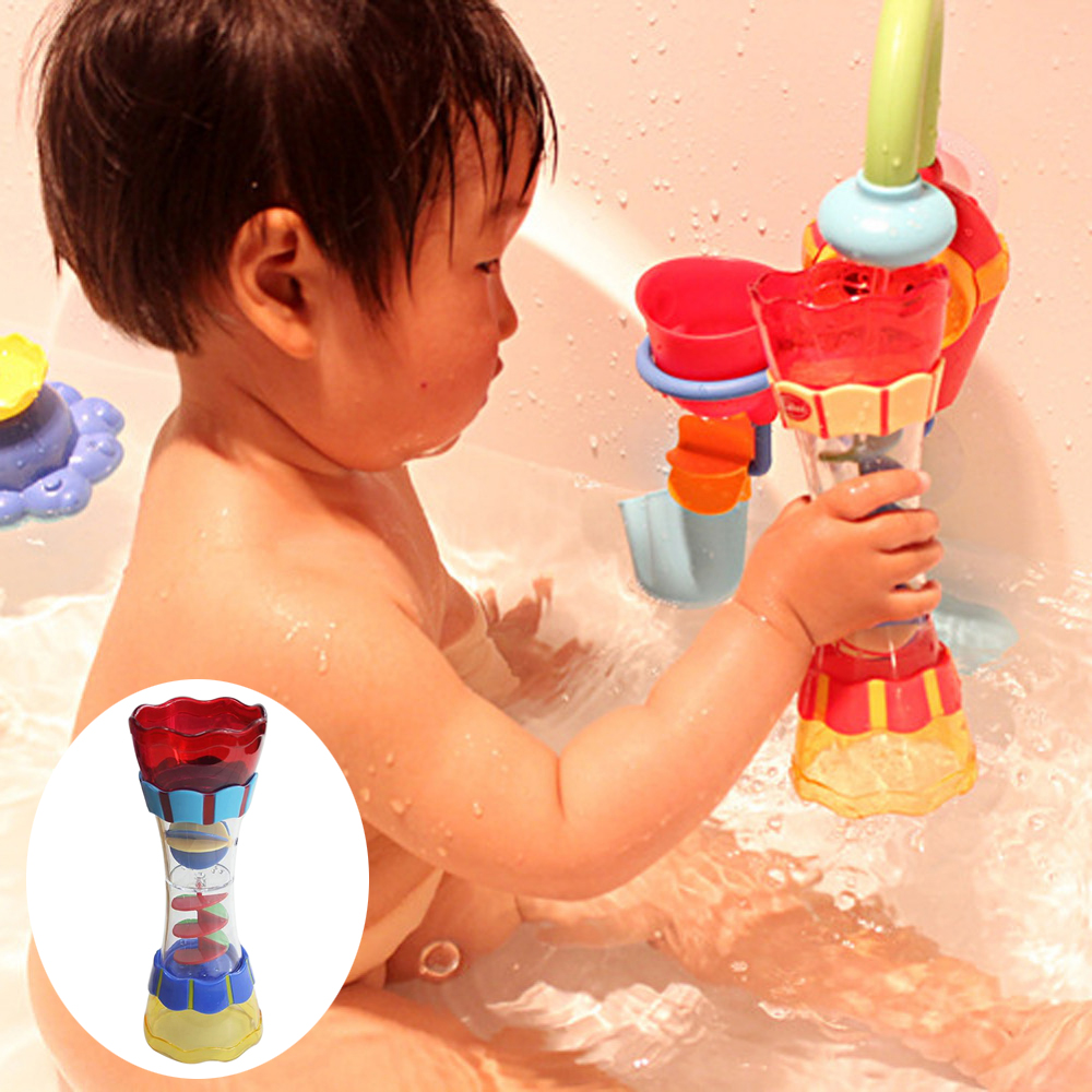 Baby Bath Toys Toddler Plastic Bath Toy Swim Water Whirly Wand Cup Beach Toys Swimming Toys For Children Kids Boys Birthday Gift