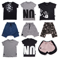 2017 New Fashion Nununu Boys Girls Harem Short Pants Kids Long Brand Toddler Print T Shirt Infant Pants vestido infant