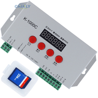 K 1000C RGB Pixel Controller for LPD6803 WS2811 WS2812b WS2813 SK6812 Pixels led strip light MAX control 2048pcs pixel DC5 24V