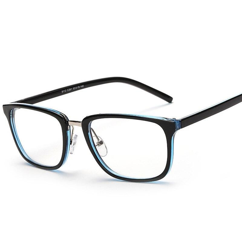 2018 Nuovi Occhiali Donne Degli Uomini Di Marca Del Progettista Piazza Occhiali Da Vista Cornici Chiaro Miopia Ottica Occhiali Oculos De Grau 8112