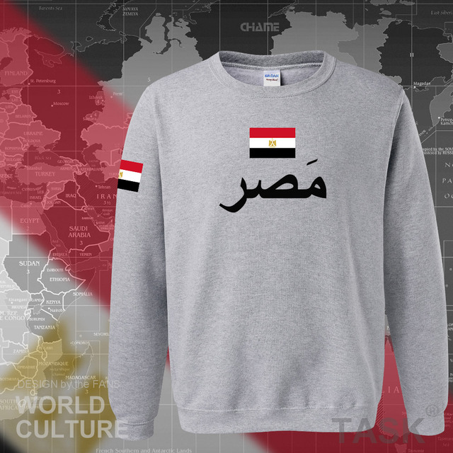Arab Republic of Egypt hoodies men sweatshirt sweat new hip hop streetwear tracksuit nation footballer sporting EGY Egyptian 5