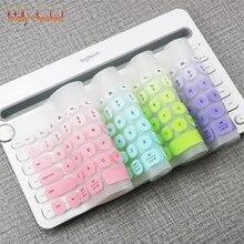 dd4e80c014b Keyboard Cover Protector For Logitech K480 Bluetooth Multi-Device Keyboard  Silicone Dustproof Wireless Desktop Dust