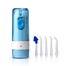 Tackore AR-W-06 Dental Flosser Water Floss Oral Irrigator With 5 Jet Tips Dental Oral Hygiene USB rechargeable water flosser